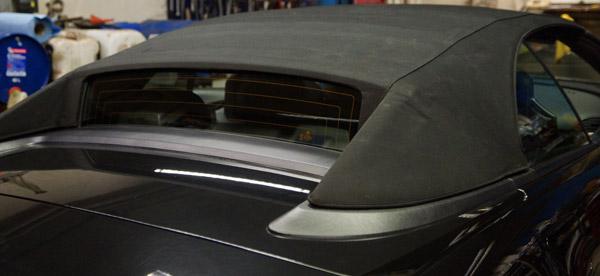 cabrio verdeck reparatur bmw 6er m6 verdeck reparieren. Black Bedroom Furniture Sets. Home Design Ideas